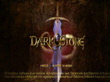 Darkstone title screenshot