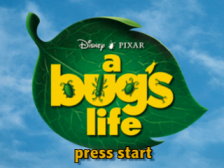 A Bug's Life title screenshot