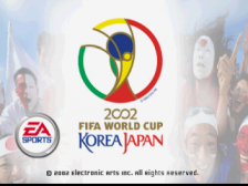 2002 FIFA World Cup - Japan Korea title screenshot