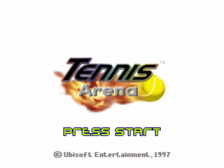 Tennis Arena title screenshot