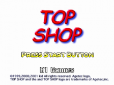 Board Game - Top Shop title screenshot