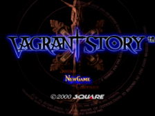 Vagrant Story title screenshot
