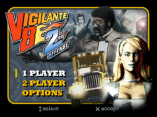 Vigilante 8 - 2nd Offense title screenshot