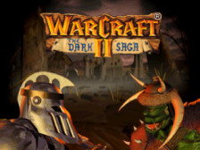 WarCraft II - The Dark Saga title screenshot
