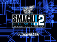 WWF SmackDown ! 2 - Know Your Role title screenshot