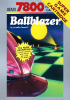 Ballblazer Atari 7800 cover artwork