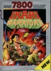Ikari Warriors Atari 7800 cover artwork