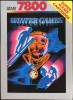 Winter Games Atari 7800 cover artwork