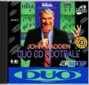 John Madden Duo CD Football NEC TurboGrafx 16 CD cover artwork