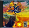Ys Book I & II - Ancient Ys Vanished NEC TurboGrafx 16 CD cover artwork