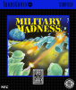 Military Madness NEC TurboGrafx 16 cover artwork