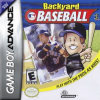 Backyard Baseball Nintendo Game Boy Advance cover artwork