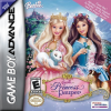 Barbie - The Princess and the Pauper Nintendo Game Boy Advance cover artwork