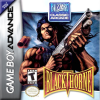 Blackthorne Nintendo Game Boy Advance cover artwork