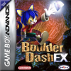 Boulder Dash EX Nintendo Game Boy Advance cover artwork