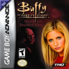 Buffy the Vampire Slayer - Wrath of the Darkhul King Nintendo Game Boy Advance cover artwork