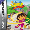 Dora the Explorer - Dora's World Adventure! Nintendo Game Boy Advance cover artwork