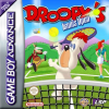 Droopy's Tennis Open Nintendo Game Boy Advance cover artwork