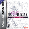 Final Fantasy V Advance Nintendo Game Boy Advance cover artwork