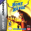 Home on the Range Nintendo Game Boy Advance cover artwork