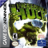 Incredible Hulk, The Nintendo Game Boy Advance cover artwork