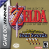 Legend of Zelda, The - A Link to the Past & Four Swords Nintendo Game Boy Advance cover artwork