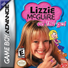 Lizzie McGuire - On the Go! Nintendo Game Boy Advance cover artwork