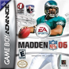 Madden NFL 06 Nintendo Game Boy Advance cover artwork