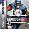 Madden NFL 07 Nintendo Game Boy Advance cover artwork