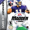Madden NFL 2002 Nintendo Game Boy Advance cover artwork
