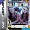 Mary-Kate and Ashley - Girls Night Out Nintendo Game Boy Advance cover artwork