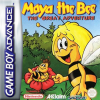Maya the Bee - The Great Adventure Nintendo Game Boy Advance cover artwork