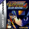 Mega Man Battle Network 4 - Blue Moon Nintendo Game Boy Advance cover artwork