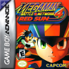 Mega Man Battle Network 4 - Red Sun Nintendo Game Boy Advance cover artwork