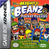 Mighty Beanz Pocket Puzzles Nintendo Game Boy Advance cover artwork