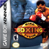 Mike Tyson Boxing Nintendo Game Boy Advance cover artwork