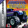 Monster Trucks Mayhem Nintendo Game Boy Advance cover artwork