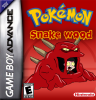 Pokemon Snakewood Nintendo Game Boy Advance cover artwork