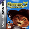 Shrek 2 - Beg for Mercy Nintendo Game Boy Advance cover artwork