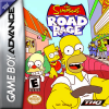 Simpsons, The - Road Rage Nintendo Game Boy Advance cover artwork