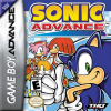 Sonic Advance Nintendo Game Boy Advance cover artwork