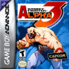 Street Fighter Alpha 3 Nintendo Game Boy Advance cover artwork