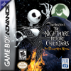 Tim Burton's The Nightmare Before Christmas - The Pumpkin King Nintendo Game Boy Advance cover artwork