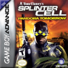 Tom Clancy's Splinter Cell - Pandora Tomorrow Nintendo Game Boy Advance cover artwork