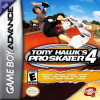 Tony Hawk's Pro Skater 4 Nintendo Game Boy Advance cover artwork