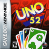 Uno 52 Nintendo Game Boy Advance cover artwork