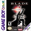 Blade Nintendo Game Boy Color cover artwork