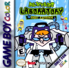 Dexter's Laboratory - Robot Rampage Nintendo Game Boy Color cover artwork