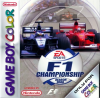 F1 Championship Season 2000 Nintendo Game Boy Color cover artwork