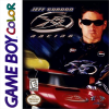 Jeff Gordon XS Racing Nintendo Game Boy Color cover artwork